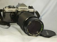 '   FX-D Quartz 75-200MM NICE SET ' Yashica FX-D Quartz SLR Camera c/w 75-200mm Lens + Inst -NICE SET-  £29.99